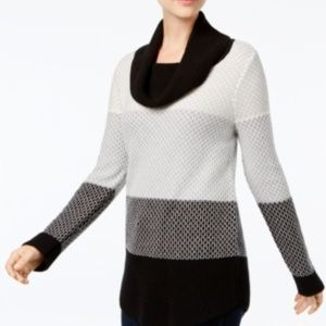 [105]Charter Club Colorblocked Sweater